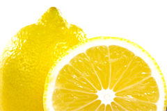 Juicy ripe lemons Royalty Free Stock Photography