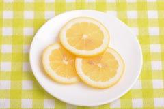 Juicy ripe lemons close up Royalty Free Stock Photo
