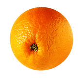 Juicy ripe orange isolated on white Stock Image