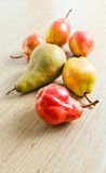 Juicy ripe pears Royalty Free Stock Photos