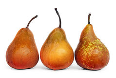 Juicy Ripe Pears Royalty Free Stock Images