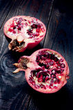 Juicy and ripe pomegranate Royalty Free Stock Photography