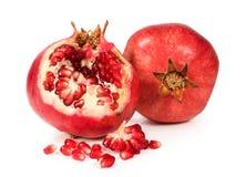Juicy ripe pomegranates Stock Image
