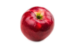 Juicy ripe red apple Royalty Free Stock Photo