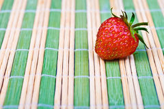 Juicy ripe strawberry Stock Images