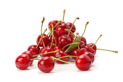 Juicy ripe sweet cherry Royalty Free Stock Images