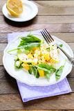 Juicy salad with orange and apple Royalty Free Stock Photography