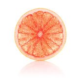 Juicy segment grapefruit Royalty Free Stock Photos