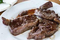 Juicy sirloin steak Royalty Free Stock Images