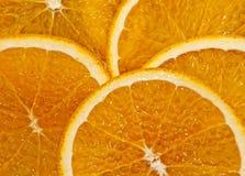 Juicy Sliced Orange royalty free stock photos