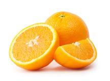 Juicy sliced oranges Royalty Free Stock Image