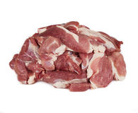 Juicy slices of raw beef Stock Photo