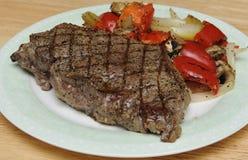 Juicy steak Stock Image