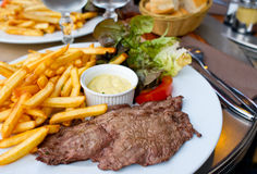 Juicy steak beef meat Royalty Free Stock Photography