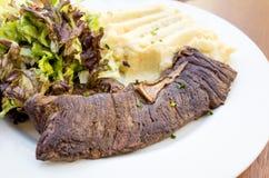 Juicy steak beef meat Royalty Free Stock Images