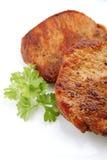 Juicy steak dinner Stock Photos