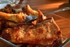 Juicy steak Stock Photos