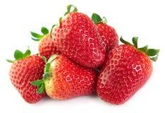 Juicy strawberries Stock Image