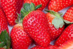 Juicy strawberries Royalty Free Stock Photography