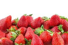 Juicy strawberries. Pile of juicy strawberries - background Stock Images