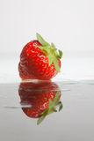 Juicy strawberry Royalty Free Stock Image