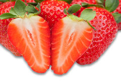 Juicy strawberry Royalty Free Stock Photography