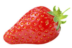 Juicy strawberry Stock Photo