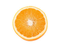 Juicy sweet orange half Royalty Free Stock Photos