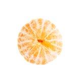 Juicy tangerine φρούτα που απομονώνονται φρέσκα πέρα από Στοκ Εικόνα