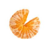 Juicy tangerine φρούτα που απομονώνονται φρέσκα πέρα από Στοκ εικόνες με δικαίωμα ελεύθερης χρήσης