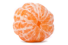 Juicy tangerine. On a white background Stock Images