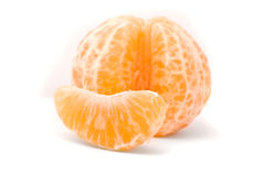 Juicy tangerine Stock Images