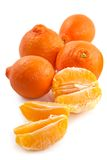 Juicy tangerine Royalty Free Stock Photos