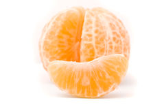 Juicy tangerine Royalty Free Stock Images