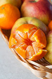 Juicy tangerine Stock Photos
