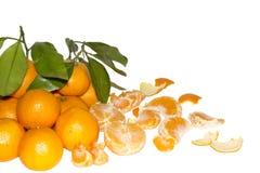 Juicy tangerines Στοκ εικόνα με δικαίωμα ελεύθερης χρήσης