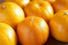 Juicy tangerines. Close up of some fresh tangerines Royalty Free Stock Photography