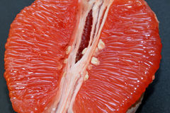 Juicy and tasty grapefruit. royalty free stock images