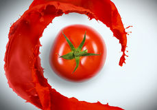 Juicy tomato Royalty Free Stock Photos
