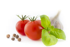 Juicy Tomatoes Royalty Free Stock Photos
