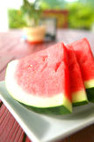 Juicy watermelon Stock Images
