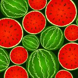 Juicy watermelon background Royalty Free Stock Image