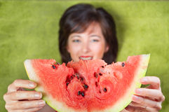 Juicy Watermelon Stock Image