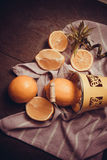 Juicy yellow lemons Stock Photo