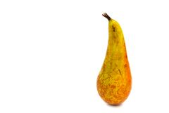 Juicy yellow pear Stock Images