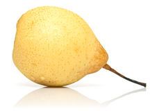 Juicy yellow pear Stock Photos