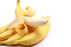 Juicy yummy banana Royalty Free Stock Photography