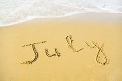 juillet Photos stock