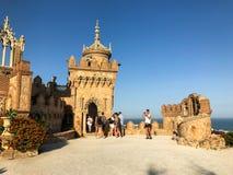 22 juillet 2017 - ` Benalmadena, Cadix, Espagne de château de Colomares de ` photo libre de droits