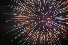 4 juillet célébration de feux d'artifice en Caroline du Nord Photographie stock
